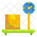 Box Weight Package Weight Scale Icon