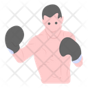 Fighter Boxer Boxing Player Icon