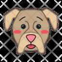 Boxer Dog Hushed Icon