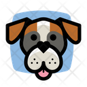 Boxer Dog Boxer Heart Icon