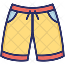 Boxers Knickers Shorts Icon
