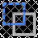 Boxes Shape Design Icon
