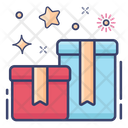 Boxes Surprise Wrapping Box Icon