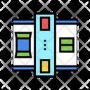 Machine Closed Boxes Icon
