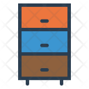 Boxes Cabinet Drawers Icon