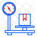 Boxes Delivery Machine Icon