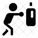 Boxing Punch Fight Icon
