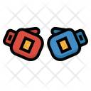 Boxing Sport Gloves Icon
