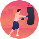 Boxing Boxer Olympics Game Icon