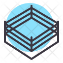 Boxing Match Competition Icon