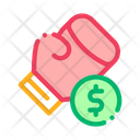 Boxing Hand Betting Icon