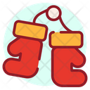 Boxing Day Boxing Gloves Mitten Icon