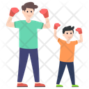 Boxing Game Boxer Olympics Game Icon