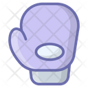 Boxing Glove Hand Protection Sports Equipment Icon