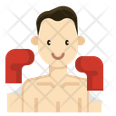 Boxing player Icon