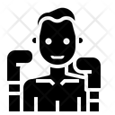 Boxing Muay Thai Icon