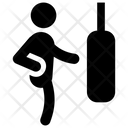 Boxing Punch Boxer Fighter Icon