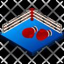 Boxing Ring Boxing Ring Icon