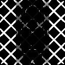 Boy Child Cold Icon