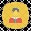 Boy Avatar School Icon
