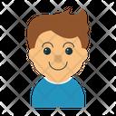 Boy Child Kid Icon