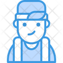 Backwards Boy Avatar Icon
