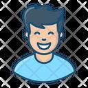 Boy Smiling Boy Human Icon