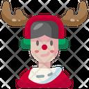 Boy Christmas Xmas Icon