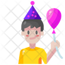 Boy Balloon Child Icon