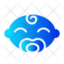 Boy Pacifier Baby Icon