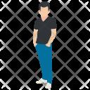 Short Height Boy Icon
