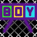 Boy Announce Icon