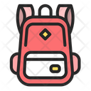 Boy Bag Backpack Bag Icon