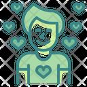 Boy In Love Icon