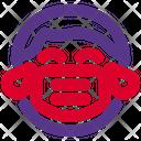 Boy Joy Emoji With Face Mask Emoji Icon