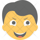 Boy Laughing Emoji Icon