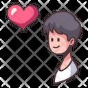 Love Boy Happy Icon