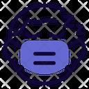 Boy Sleeping Emoji With Face Mask Emoji Icon
