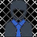 Boy School Student Icon