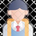 Boy Student Boy Student Icon