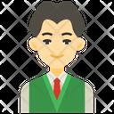 Boy Student Icon