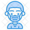 Boy Wearing Mask Icon