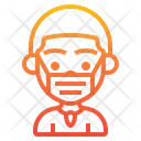 Boy Wearing Mask Boy Man Icon