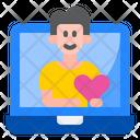 Boyfriend Romanctic Laptop Icon
