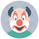Bozo Clown Character Clown Joker Icon