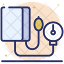 Bp Operator Sphygmomanometer Bp Meter Icon