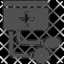 Bp Operator Bp Monitor Bp Apparatus Icon