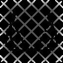Triangle Brassiere Lingerie Icon