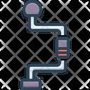 Brace Compress Pucker Icon