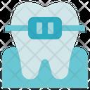 Dentist Brace Tooth Icon